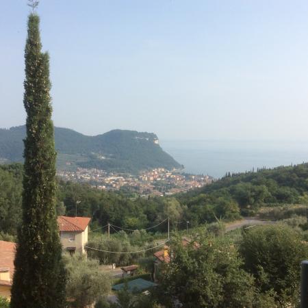 Hotel Madrigale: Blick von der Terrasse