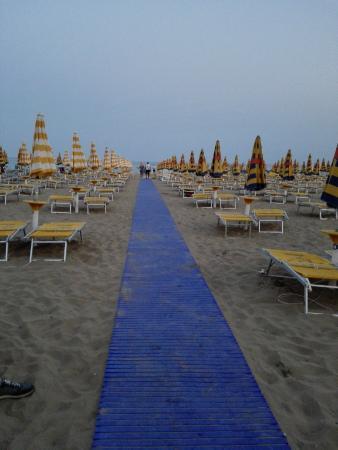 Hotel Italia: spiaggia
