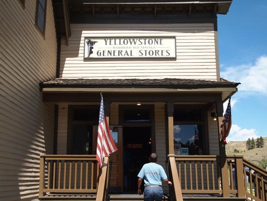 Mammoth General Store Yellowstone National Park