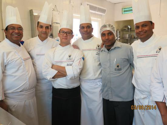 The Team Of Chefs Picture Of Al Forsan International