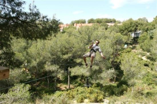 Tamarit, España: Fantastic for adults as well/ Adultos se lo pasan bomba