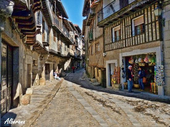 Calle tablao la alberca fotograf a de centro hist rico for Imagenes de la alberca salamanca