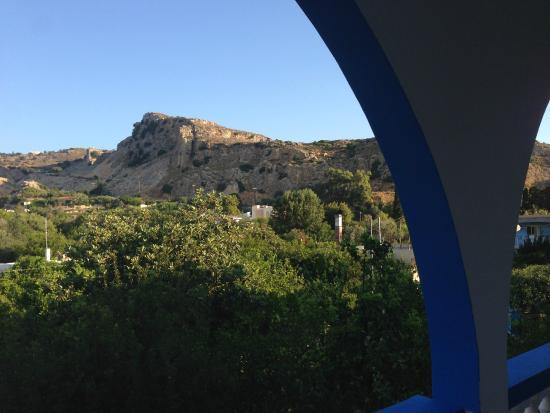 Afroditi: Vista lato monte