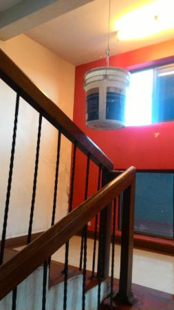 Hotel Greenland Delsol: Entry to the room, stair case