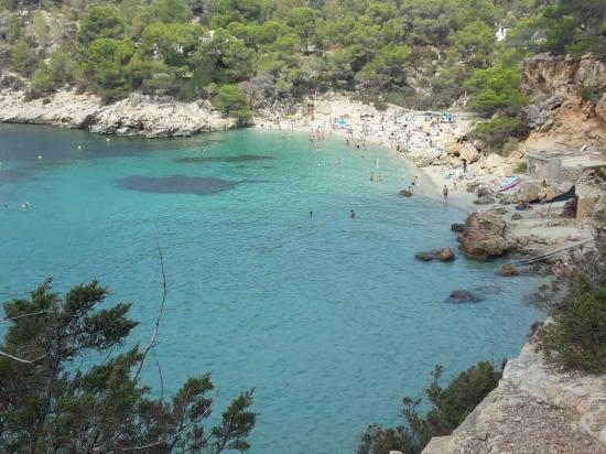 Sant Antoni de Portmany, Spanien: cala salatela