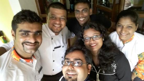 Saligao, Ινδία: Team Shanti Morada