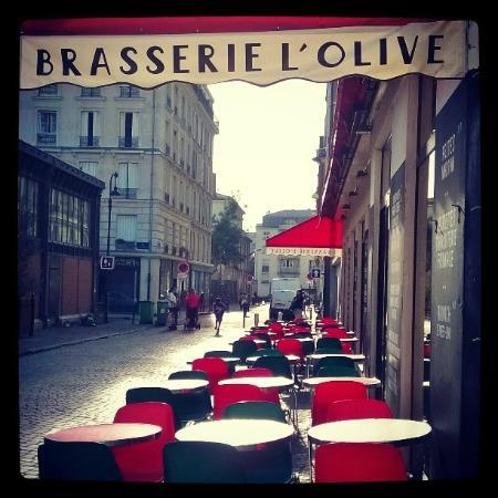Brasserie L'Olive: L'olive, 8h du matin
