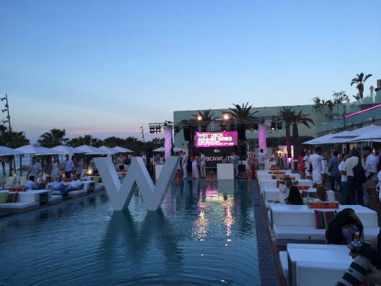 W Hotel Barcelona Pool Party