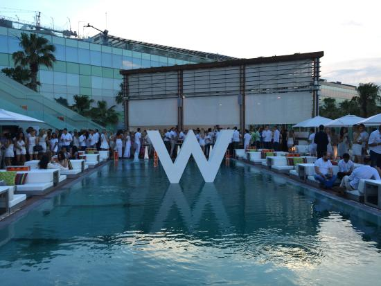 Sunday Pool Party Picture Of W Barcelona Barcelona Tripadvisor