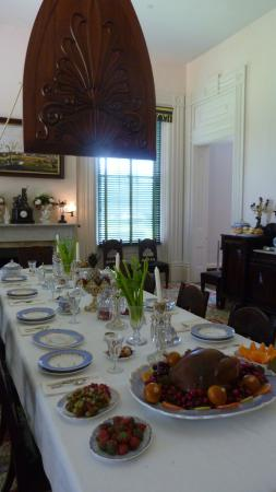 Natchez, MS: the dining room