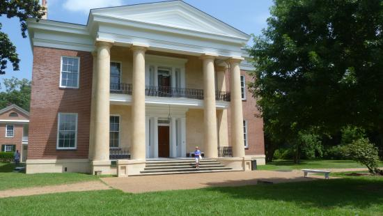 Natchez, MS: main front of house