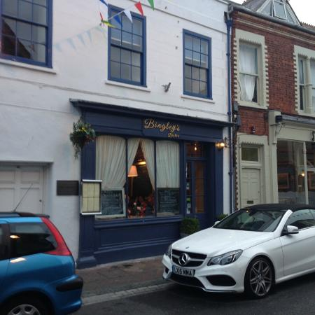Bingley's Bistro: Street view.