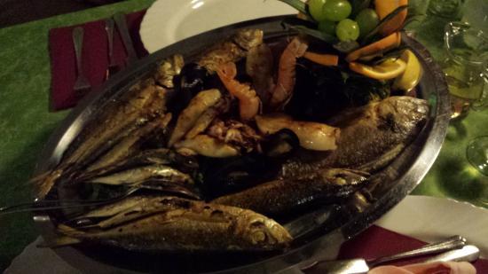 Villa Margerita: Piatto di pesce