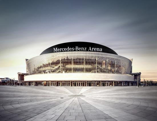 ‪Mercedes-Benz Arena Berlin‬