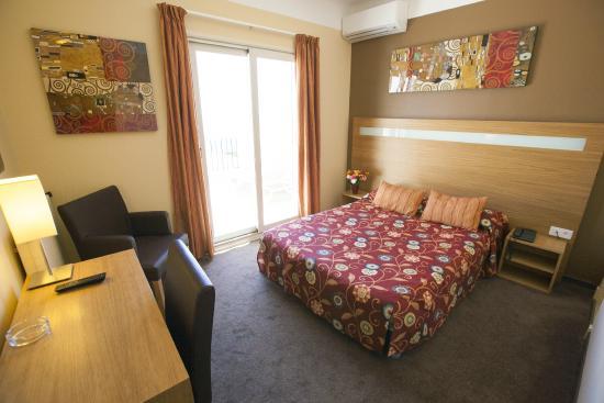 Hotel Miramar Cap D'Ail : Chambre avec terrasse vue mer