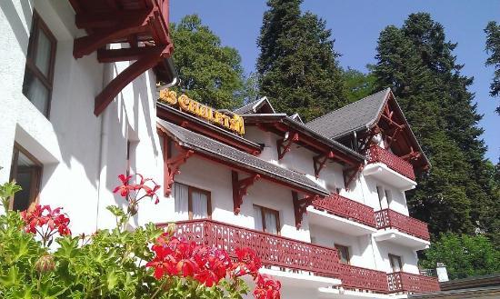 Hotel les Chalets: vue façade