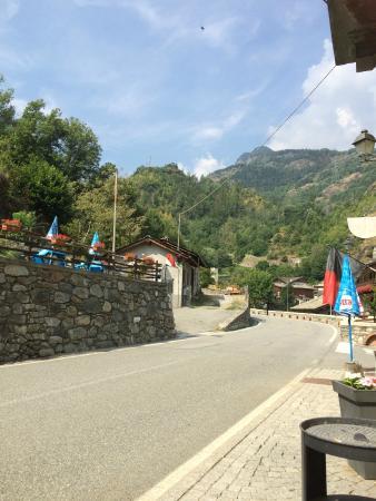 Hotel Col du Mont : andere kant