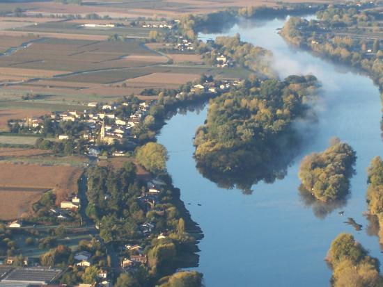 Office de Tourisme Castillon-Pujols : Les méandres de la Dordogne