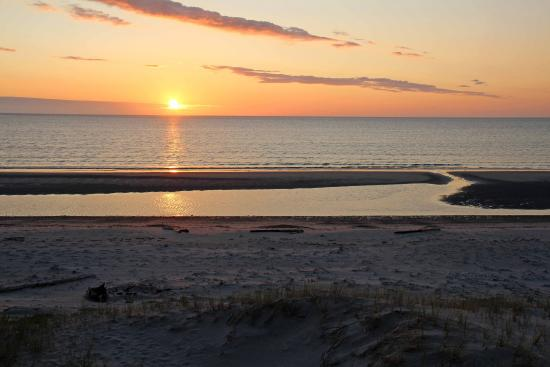Sunset at Shallow Bay Beach