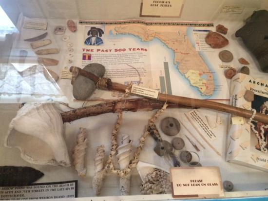 Anna Maria Island Historical Museum: Native Items Found On The Island