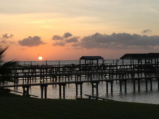 Rockport, TX: Here's the lovely sunset