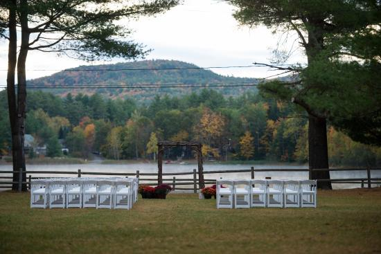 Warrensburg, NY: Rec Hall Wedding Ceremony Location