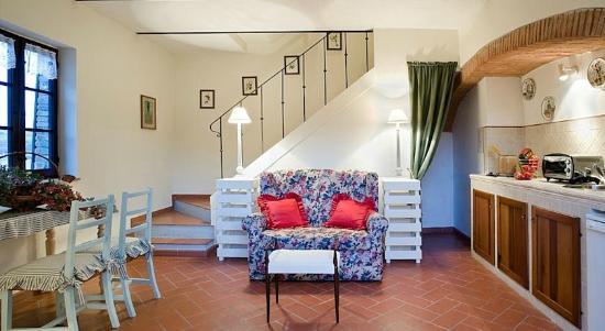 Villa il Pozzo: living