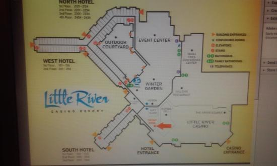 Lrcr Property Layout Picture Of Little River Casino Resort