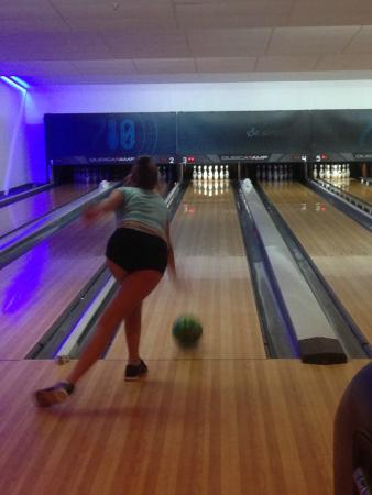 710 Bowling Haley In Action