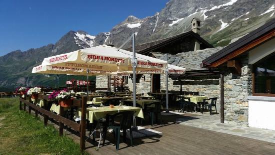 Hotel Baita Cretaz : terrazza estiva