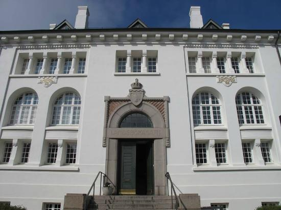 Culture House: The historic building on Hverfisgata