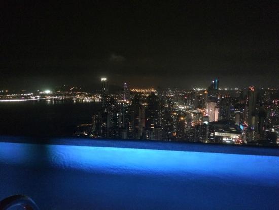 Vista desde el restaurant del piso 67