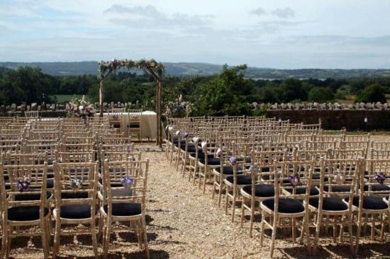 Folly Farm Centre: Outside Ceremony
