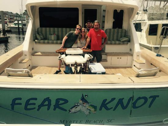 Holiday Inn at the Pavilion: The Fear Knot Yacht Cruise!!!!!