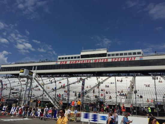 New Hampshire Motor Speedway Start Finish Line