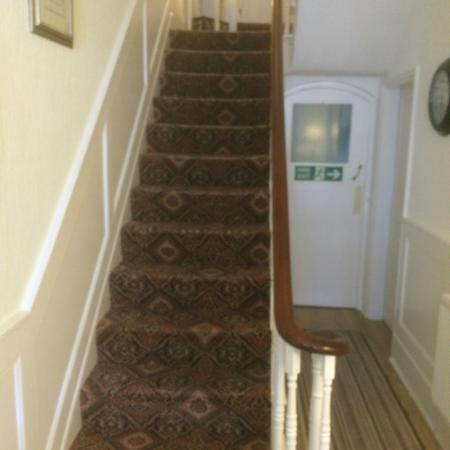 High Tor Guesthouse: The Start of the 52 Steps