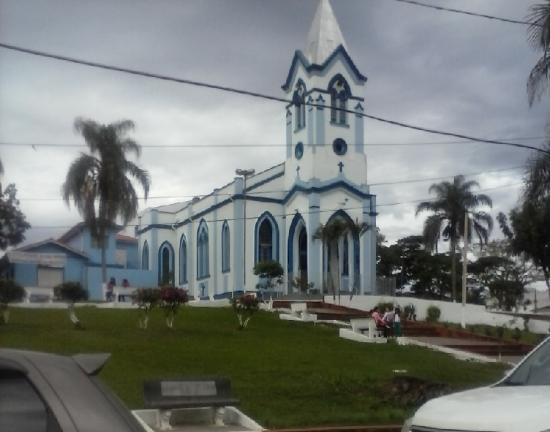 Pariquera-Acu, SP: Bela Igreja