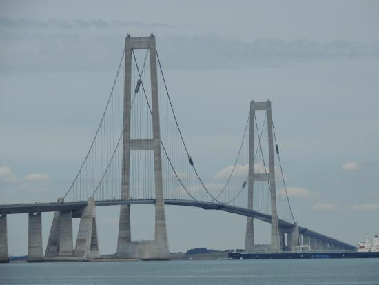 West Zealand, Danemark : Storebæltsbroen