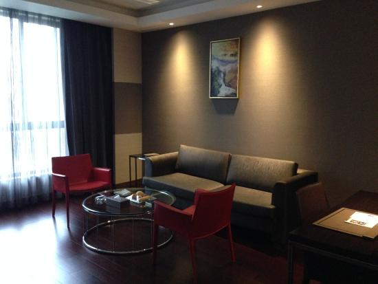 Fuqing, Chine : The living room of the Junior Suite that I stayed