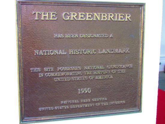 Greenbrier Government Relocation Facility: Historic landmark