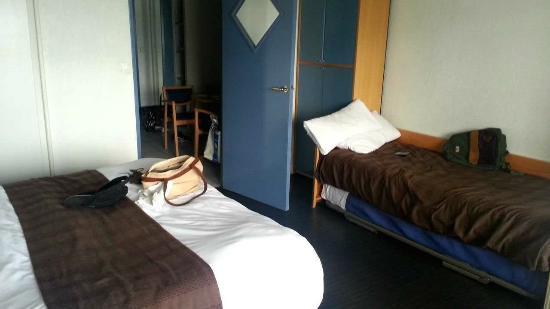 Serge Blanco Hotel Ibaia: chambre pour 4 personnes