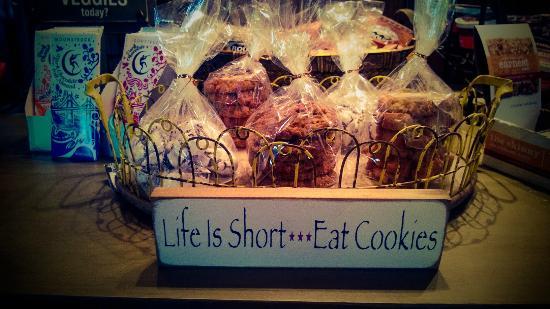 Lake Lure, Βόρεια Καρολίνα: Bakery Fresh Cookies