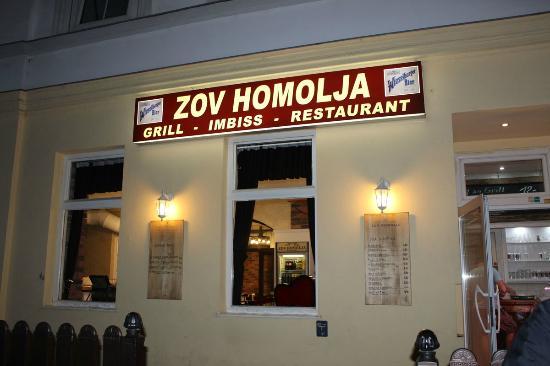 Zov Homolja Imbiss Grill Restaurant
