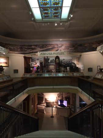 The Haggin Museum: Pioneer Gallery with exhibits on the history of Stockton