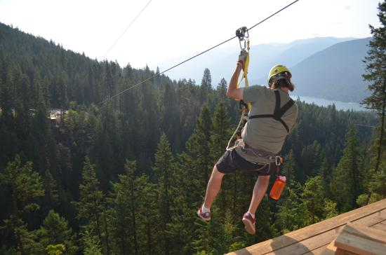 ‪Kokanee Mountain Zipline‬