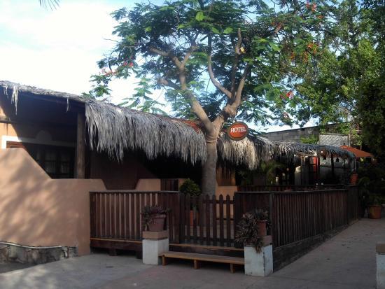 Hotel 1697 Loreto: Right on the plaza!