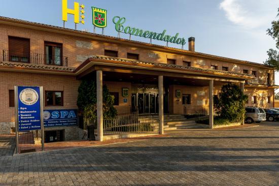 Hotel Comendador: Fachada principal