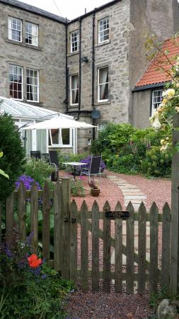 The Old Priory Bed and Breakfast: View of the rear of the property