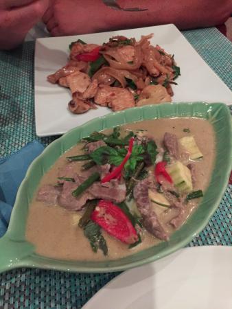 Ruan Kum Rai Thai : Red Thai curry