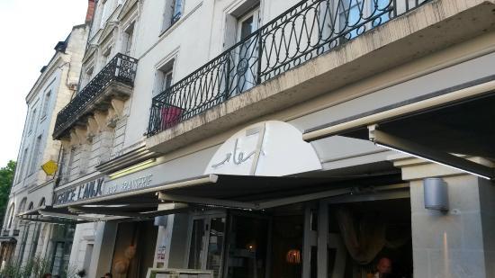 restaurant brasserie le 7 : Façade
